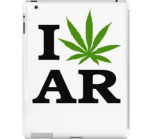 I Marijuana Arkansas iPad Case/Skin