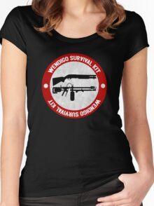 Wendigo Survival Kit - Until Dawn Women's Fitted Scoop T-Shirt