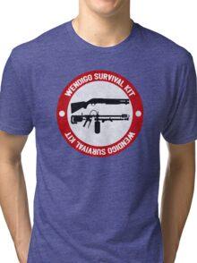 Wendigo Survival Kit - Until Dawn Tri-blend T-Shirt