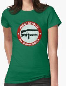 Wendigo Survival Kit - Until Dawn Womens Fitted T-Shirt