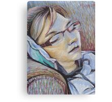 Sleeping Mom Canvas Print