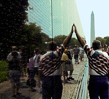 Vietnam Veterans Memorial Wall by Joe Bashour