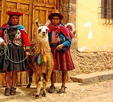 Peruvian cholitas by Constanza Caiceo