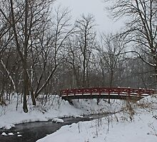 Little Red Foot Bridge by swaby