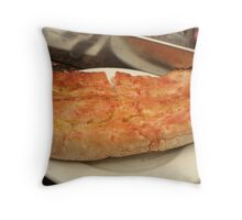 Barcelona - Bread with Tomato Sauce Throw Pillow