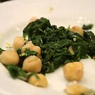 Barcelona - Spinach and chickpeas by Ilan Cohen