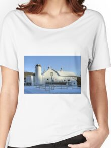 Rural Winter Whites Women's Relaxed Fit T-Shirt