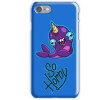Horny Narwhal iPhone Case/Skin