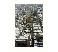 VIEW FROM THE TWIN TOWERS Art Print