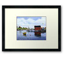 Before The Storm - Prospect Bay Framed Print