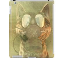 Schrödinger underestimates the cat iPad Case/Skin