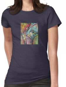Petal pushers Womens Fitted T-Shirt