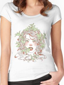 Peppermint Girl Women's Fitted Scoop T-Shirt