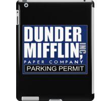 Dunder Mifflin - Parking Permit iPad Case/Skin