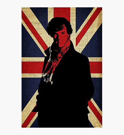 I Believe in Sherlock Holmes Photographic Print