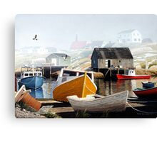 Colourful Cove Canvas Print