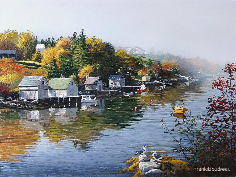 Hackett's Cove Nova Scotia by Frank Boudreau