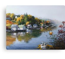 Hackett's Cove Nova Scotia Canvas Print