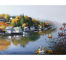 Hackett's Cove Nova Scotia Photographic Print