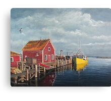 Tied Up - John's Cove Canvas Print