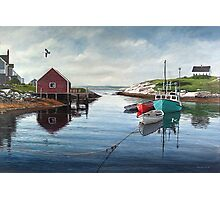 Tranquil Harbour Photographic Print