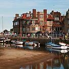 Blakeney Quay North Norfolk by Paul Pasco