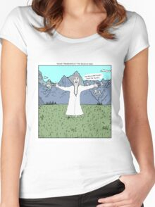 Young Frankenstein + The Sound of Music Women's Fitted Scoop T-Shirt