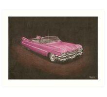 Cadillac Eldorado Art Print