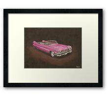 Cadillac Eldorado Framed Print