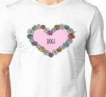Dogs Heart Unisex T-Shirt