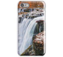 Big Falls in Autumn Dress iPhone Case/Skin