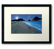 Beach Walkers Framed Print