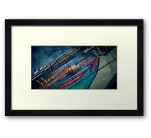 The Facade Of Happiness Framed Print
