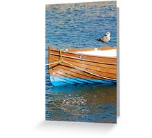 Bird on The Boat Greeting Card