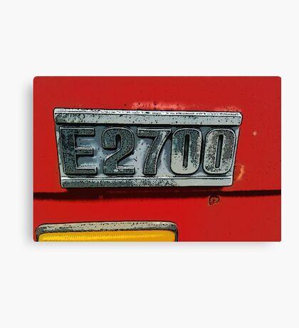 Mazda E2700 - The Emblem! Canvas Print
