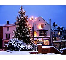 Christmas in my Home Town Photographic Print