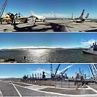 The USS Hornet, 3 in 1 by Laurie Puglia
