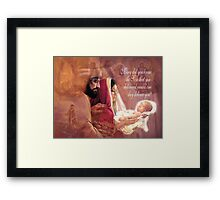 Mary Did You Know? Framed Print