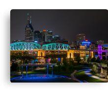 Music City Nights Canvas Print
