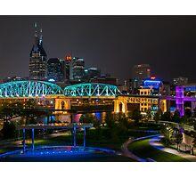 Music City Nights Photographic Print