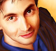 The Tenth Doctor Smiles by nsfwhitebread