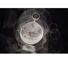Compass Photographic Print