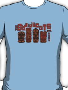 Syndicate Tiki - Red Outline T-Shirt