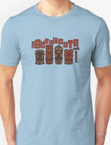 Syndicate Tiki - Red Outline Unisex T-Shirt