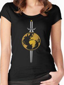 Star Trek Mirror Universe Logo Women's Fitted Scoop T-Shirt