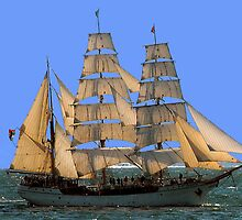 Sailing ship, Newport, RI, Sailing tour by Joe Bashour