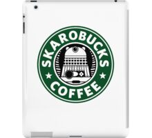 Skaro Coffee Green iPad Case/Skin