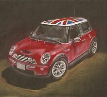 MINI Cooper by scarletmoon