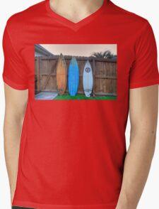 Surf boards Mens V-Neck T-Shirt