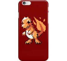 #004 - Charmander Retro 8-Bit iPhone Case/Skin
